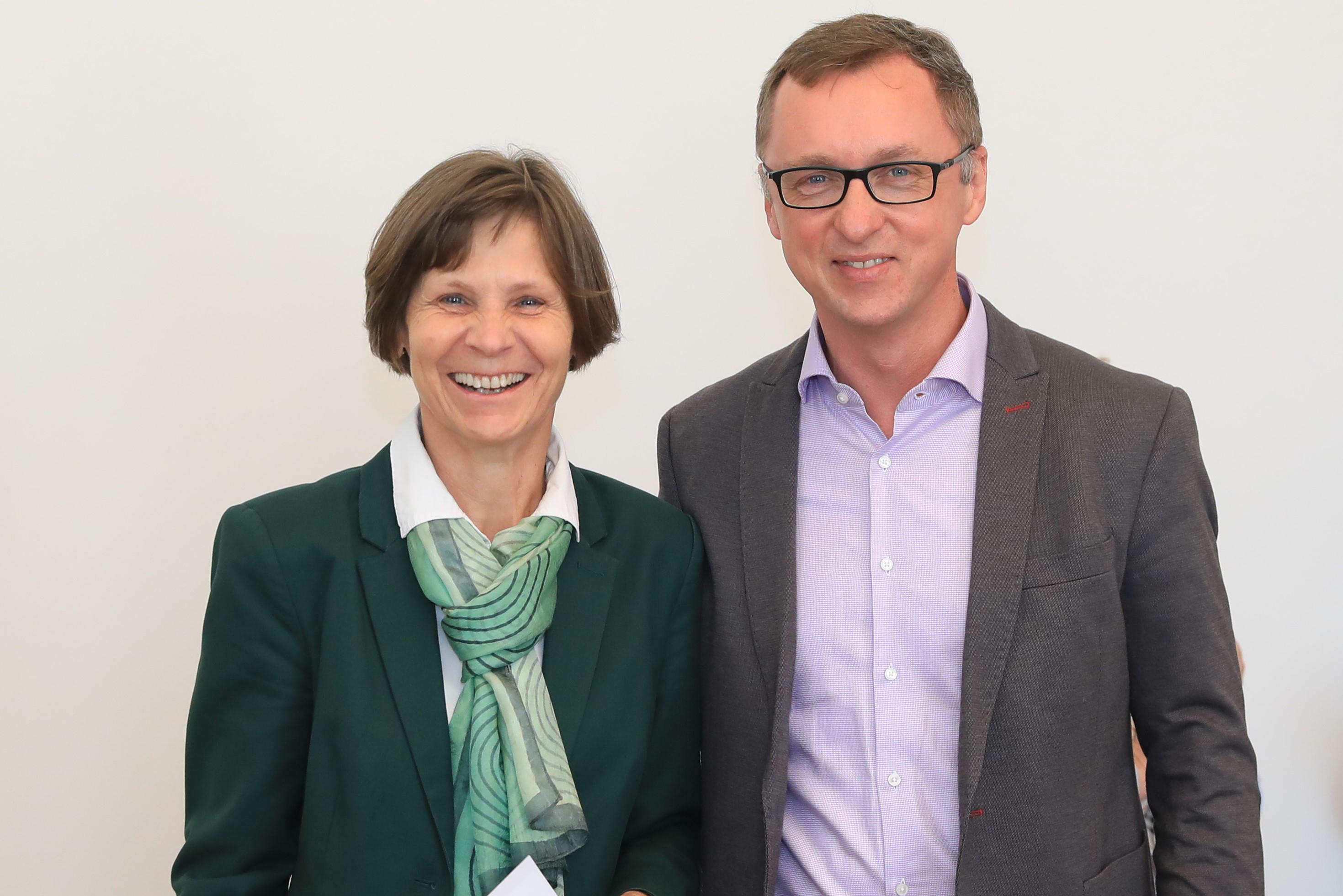 Sr. Christine Rod und Peter Bohynik sind die neue operative Spitze der Österreichischen Ordenskonferenz